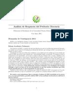 Analisis del Petitorio - Docencia