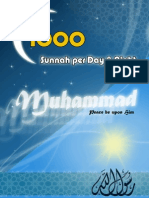 1000 Sunnah Per Day & Night