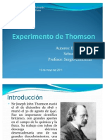 Experimento de Thomson