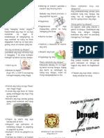 Dengue Pamphlet