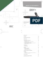 manual do equipamento sky