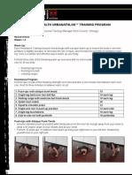 Urbanathlon Training Weeks 1-3