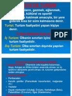 TÜRKİYE'DE TURİZM