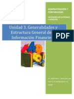 General Ida Des y Estructura General de La in Financier A