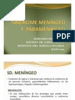 Sd Meningeos y Parameningeos (Dra. Marcela Figueroa)
