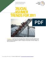 Trend Watching 2010-12 11 TRENDS 2011
