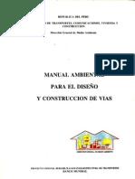 Manual_ambiental de diseño y construcciond vias