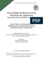 GUIA Para La Evaluacion de Proyectos