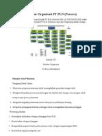 Struktur Organisasi PT PLN