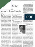 Vandana Shiva y Vinculo Sagrado