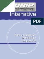 Etica e Legislacao Trabalhista e rial Unidade I