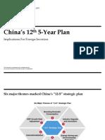 China's 12th 5-Year Plan (Booz & Company)