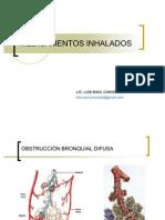 MEDICAMENTOS INHALADOS (FARMACOLOGÍA EN T.R.)