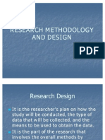 Research Methodology and Design-1