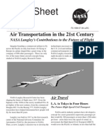 NASA Facts Air Transportation in the 21st Century