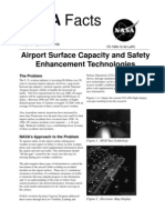 NASA Facts Airport Surface Capacity and Safety Enhancement Technologies