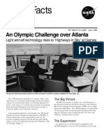 NASA Facts an Olympic Challenge Over Atlanta
