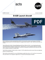 NASA Facts B-52B Launch Aircraft