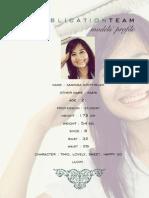 UTP Publication Team - Model's Portfolio