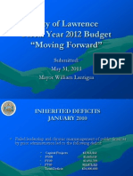 Mayor's FY12 Budget PowerPoint Presentation