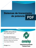 Sistemas de transmisión de potencia 2