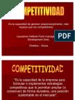 Modulo Competitividad y Productividad - Ingenieria Industrial