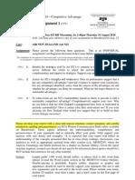 Assignment Air NZ Case
