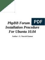 3.08 Installation Procedure