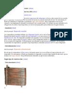 Tipos de evaporador