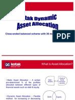 Kotak Dynamic Asset Allocator