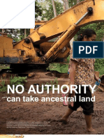 No Authority can take ancestral land - Chris Hufstader, OXFAM