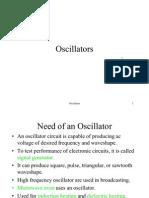 (19) Oscillators