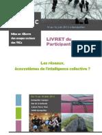 Moustic Livret Du Participant 2011