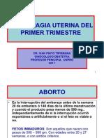 Hemorragia Uterina Del Primer Trimestre