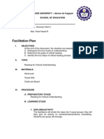 Facilitation Plan