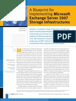 Dell - BluePrint of Exchange 2007