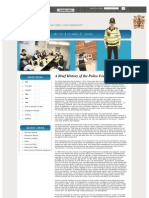 A Brief History of the Police Federation