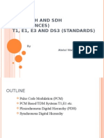 PCM , PDH and SDH