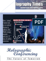 The Holography Times, Vol 2, Issue 3