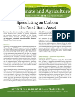 091130 Speculating on Carbon the Next Toxic Asset IATP