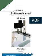 Lb Software Manual