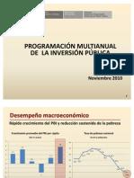 programa multianual