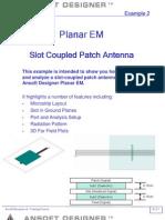 AD PEM Antenna Slotpatch