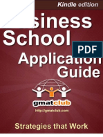 Business School Application Guide Sample