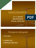 Radiography Bisecting Angle