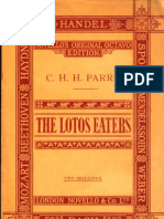 Parry-The Lotos Eaters