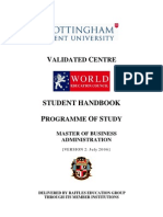 MBA Stud Hand Book