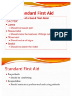 Standard First Aid Lecture