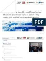Strategic directions for competitive postal financial services