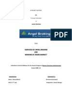 Angel Broking Project Report